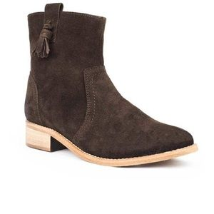 NEW My City Festival Genuine Suede Western Boots